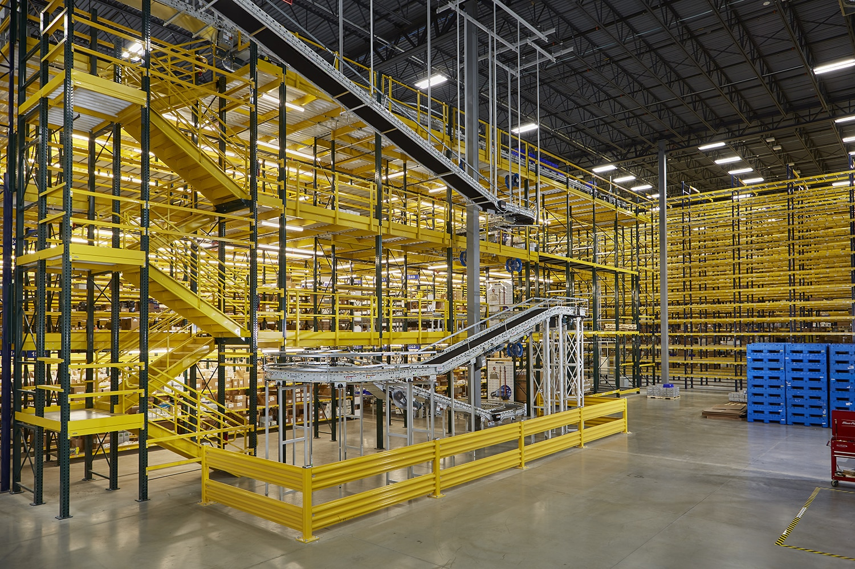 Distribution Center Storage Rack