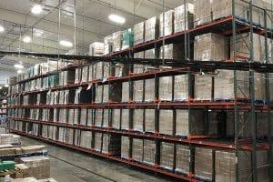 warehouse flow rack